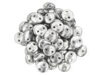 Lentil 6mm Silver - 20 sztuk