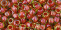 TOHO Round 6o-303 Inside-Color Jonquil - Hyacinth Lined - 10 g