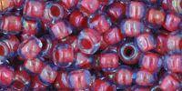 TOHO Round 6o-304 Inside-Color Lt Sapphire - Hyacinth Lined - 10 g