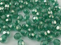 FP 4mm Luster - Emerald - 40 sztuk