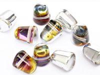 Gumdrop Beads Crystal Orion 10x7 mm - 10 sztuk