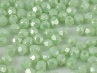 FP 3mm Luster - Opaque Azur Green Turquoise - 40 sztuk