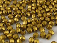 FP 3mm Matte Metallic Aztec Gold - 40 sztuk