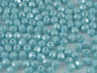 FP 3mm Luster Sky Blue Coral - 40 sztuk