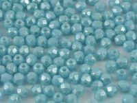 FP 3mm Luster Sky Blue Coral - 40 sztuk