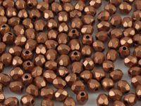 FP 3mm Matte Metallic Copper - 40 sztuk