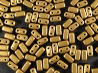 Bricks 6x3mm Matte Metallic Goldenrod - 20 sztuk