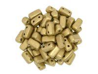 Bricks 6x3mm Matte Metallic Flax - 20 sztuk