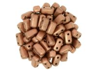 Bricks 6x3mm Matte Metallic Copper - 20 sztuk