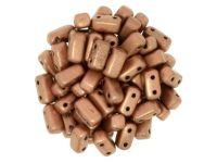 Bricks 6x3mm Matte Metallic Copper - 20 sztuk