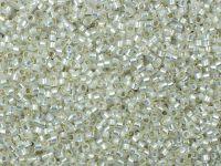 TOHO Treasure 12o-2100 Silver-Lined Milky White - 5 g