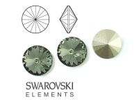 Rivoli Swarovski 14 mm Black Diamond F - 1 sztuka