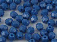 FP 4mm Opaque Blue - 40 sztuk