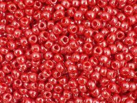 TOHO Round 8o-125 Opaque-Lustered Cherry - 10 g