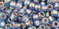 TOHO Round 6o-997 Gold-Lined Rainbow Sapphire - 10 g