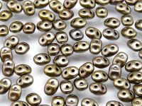 SuperDuo 2.5x5mm Matte Metallic Zinc Iris - 10 g