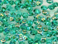 SuperDuo 2.5x5mm Emerald AB - 10 g