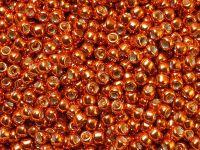 TOHO Round 8o-PF562 Permanent Finish - Galvanized Saffron - 10 g