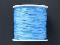 Sznurek ozdobny niebieski 0.7 mm - 3 m