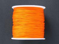 Sznurek ozdobny pomarańczowy 0.7 mm - 3 m