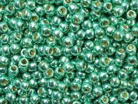 TOHO Round 8o-PF561 Permanent Finish - Galvanized Green Teal - 10 g
