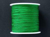 Sznurek ozdobny zielony 0.7 mm - 3 m