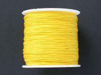 Sznurek ozdobny żółty 0.7 mm - 3 m