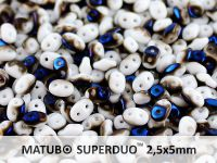 SuperDuo 2.5x5mm White Azuro - 10 g