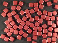Tile 6mm Chalk - Lava Red - 20 sztuk