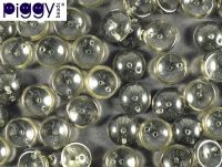 Piggy Beads Black Diamond 8x4 mm - 20 sztuk