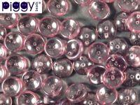 Piggy Beads Amethyst 8x4 mm - 20 sztuk