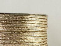 Sutasz chiński jasnozłoty metalizowany 3mm - 1 m