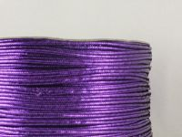 Sutasz chiński fioletowy metalizowany 3mm - 1 m