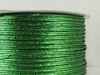 Sutasz chiński zielony metalizowany 3mm - 1 m