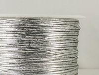 Sutasz chiński srebrny metalizowany 3mm - 1 m