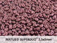 SuperDuo 2.5x5mm Metallic Suede Lilac - 10 g