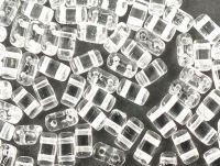 Bricks 6x3mm Crystal - 20 sztuk