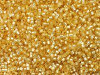 TOHO Treasure 12o-2110 Silver-Lined Milky Lt Topaz - 5 g