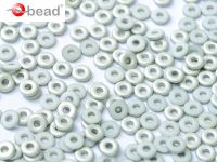 O bead Silver 1/2 White Matted - 5 g