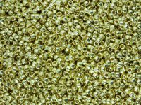 TOHO Round 11o-PF559 Permanent Finish - Galvanized Yellow Gold - 10 g