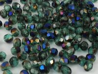 FP 3mm Blue Iris - Emerald - 40 sztuk