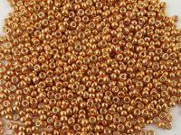 Miyuki Round 11o-4206 Duracoat Galvanized Lt Copper - 10 g