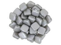 Tile 6mm Pastel Silver - 20 sztuk