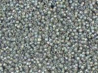 TOHO Treasure 12o-1820 Inside-Color Rainbow Gray - Opaque Gray Lined - 5 g
