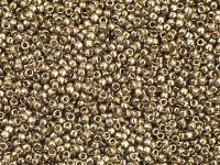 TOHO Round 15o-204 Gold-Lustered Montana Blue - 5 g