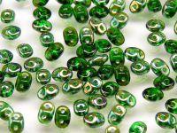 SuperDuo 2.5x5mm Green Celsian - 10 g