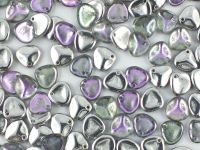Rose Petals Crystal Vitrail Light 8x7 mm - 10 sztuk