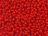 PRECIOSA Rocaille 7o-Opaque Red - 50 g