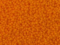 PRECIOSA Rocaille 11o-Opaque Lt Orange - 50 g