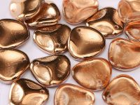 Rose Petals Apollo Gold 14x13 mm - 5 sztuk